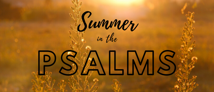 Summer in the Psalms 2020